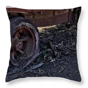 Rear Wheel Drive Throw Pillow