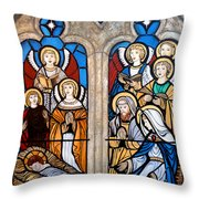 Reason For The Season Throw Pillow by Tom Roderick