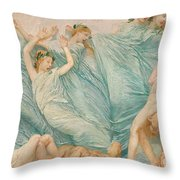 Reawakening Throw Pillow