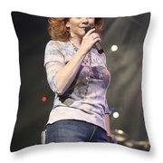 Reba Mcentire Throw Pillow