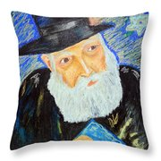 Rebbe's World  Throw Pillow