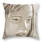 Rebecca Throw Pillow