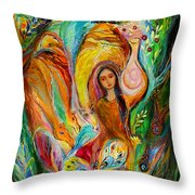 Rebecca Watered The Camels Throw Pillow