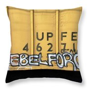 Rebel Force Throw Pillow
