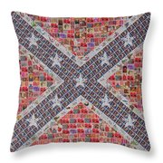 Rebel Yell Throw Pillow