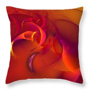 Rebirth Of Abstract Throw Pillow