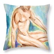 Rebirth Of Apollo Throw Pillow