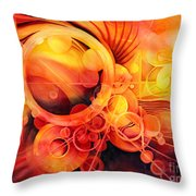 Rebirth - Phoenix Throw Pillow