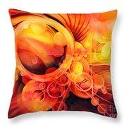 Rebirth - Phoenix Throw Pillow