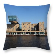Rebuilt Warehouse Throw Pillow