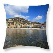 Recco. Italy Throw Pillow
