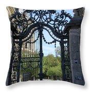 Recidence Garden Gate - Wuerzburg Throw Pillow