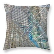 Reconstructing Architecture 9 Throw Pillow