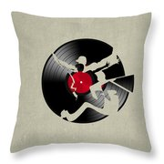 Record 2 Throw Pillow