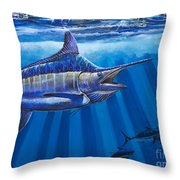 Record Off0011 Throw Pillow