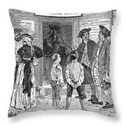 Recruitment, C1778 Throw Pillow