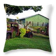 Recycled Throw Pillow