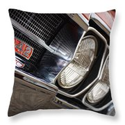 Red 1966 Olds 442  Throw Pillow
