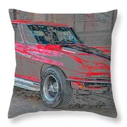 Red 65 Throw Pillow
