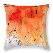 Red Abstract Art - Taking Chances - By Sharon Cummings Throw Pillow