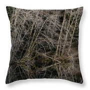 Red Alders 4 Throw Pillow