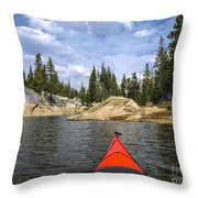 Red And Beyond Throw Pillow