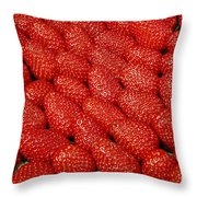 Red And Ripe Throw Pillow