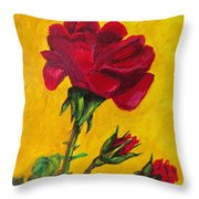 Red And Small Throw Pillow