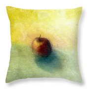 Red Apple No. 4 Throw Pillow