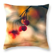 Red Beauty Throw Pillow