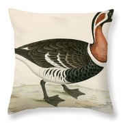 Red Breasted Goose Throw Pillow