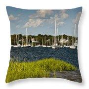 Red Brook Harbor Throw Pillow
