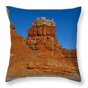 Red Canyon Dixie National Forest Throw Pillow