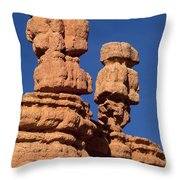 Red Canyon Utah Throw Pillow