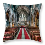 Red Carpet Throw Pillow by Adrian Evans