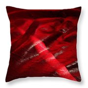 Red Chair II Throw Pillow