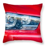 Red Charger 1521 Throw Pillow