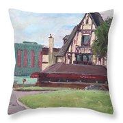 Red Coach Inn-restaurant Throw Pillow
