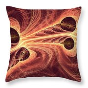 Red Current Throw Pillow
