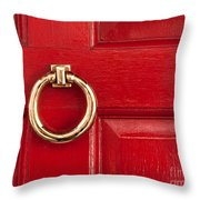Red Door 01 Throw Pillow