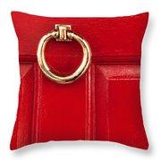 Red Door 02 Throw Pillow