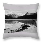 Red Fish Lake Idaho Throw Pillow