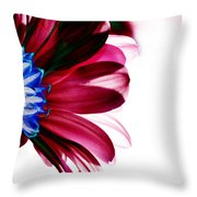 Red Flower Throw Pillow