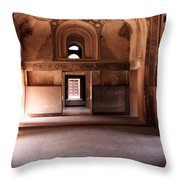 Red Fort Agra India Throw Pillow