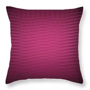 Red Fractal Background Throw Pillow