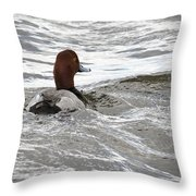Red Head Pride Throw Pillow
