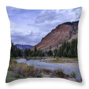 Red Hills Beauty Throw Pillow