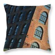 Red Hook Dream Lofts Throw Pillow