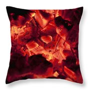 Red Hot Love Throw Pillow