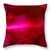Red Hot Mystery Throw Pillow